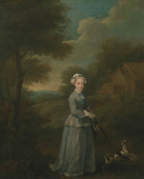 Painting - Miss Wood by William Hogarth