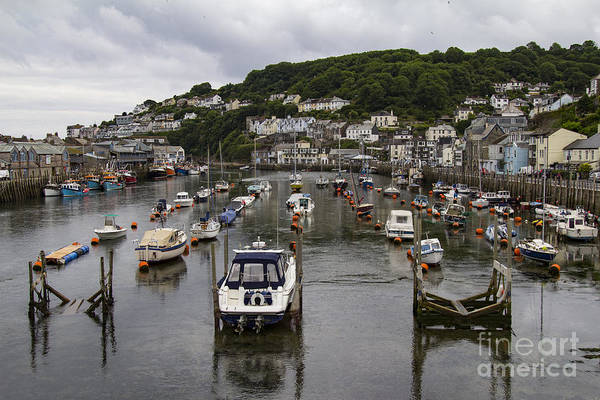 Photograph - Missed The Tide At Looe by Brian Roscorla