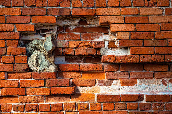 Photograph - Missing Bricks by Christopher Holmes