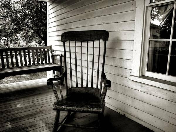 Photograph - Missing Grandpa by Scott Hovind