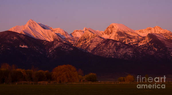Photograph - Mission Alpenglow by Katie LaSalle-Lowery