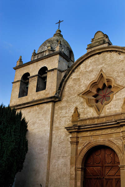 Photograph - Mission Carmel Bell Tower In Color by Renee Hong