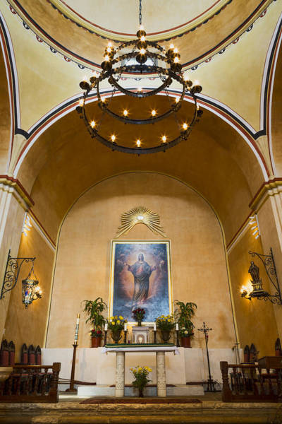 Wall Art - Photograph - Mission Concepcion Altar by Stephen Stookey