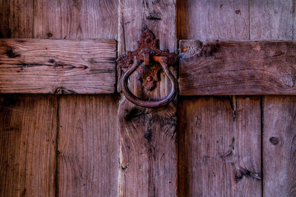Photograph - Mission Door With Rusty Knocker by Patti Deters