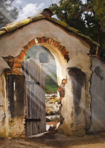 Misson Photograph - Mission Gate by Sharon Foster