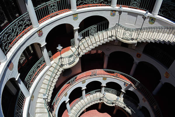 Photograph - Mission Inn Staircase by Kyle Hanson