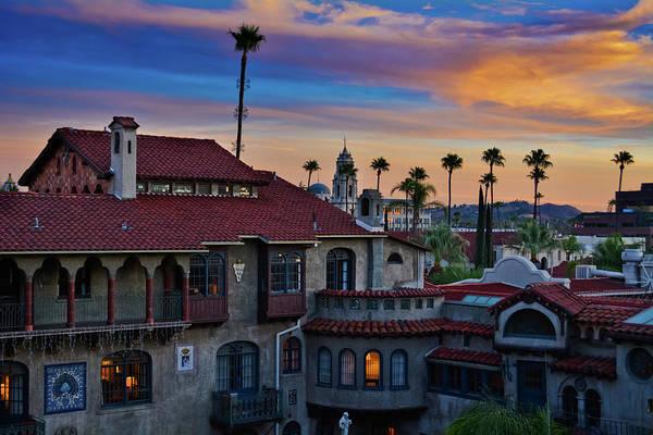 Photograph - Mission Inn Sunset by Kyle Hanson