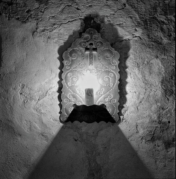 Photograph - Mission Light by Tom Singleton