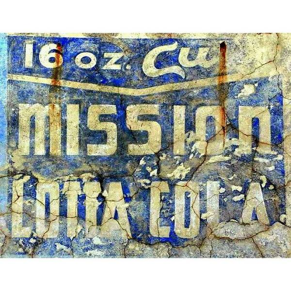 University Wall Art - Photograph - Mission Lotta Cola by Karyn Robinson