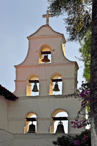 Photograph - Mission San Diego De Alcala Bell Tower by Christine Till