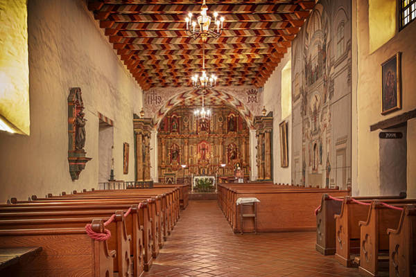 Photograph - Mission San Francisco De Asis Interior by Susan Rissi Tregoning