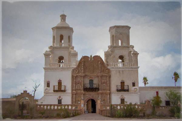 Photograph - Mission San Xavier Del Bac by Teresa Wilson