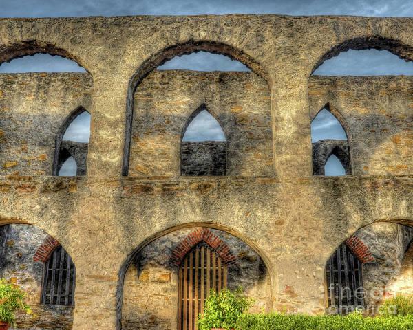 Wall Art - Photograph - Mission San Jose Arches by Michael Tidwell