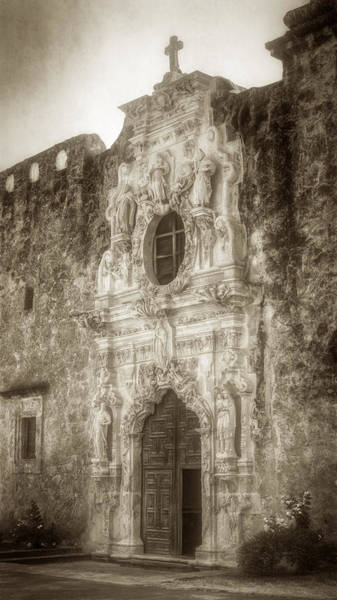 Photograph - Mission San Jose Facade by Joan Carroll