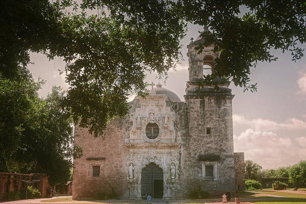 Photograph - Mission San Jose In San Antonio by Joan Carroll