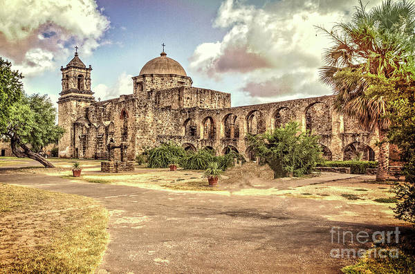 Mission San Jose Tx Art Print