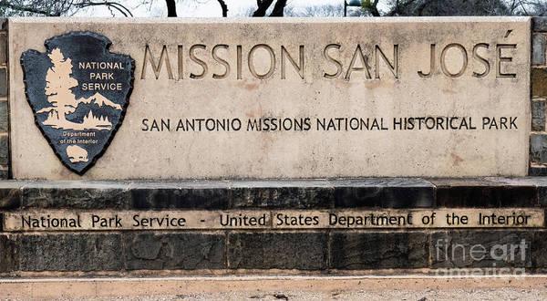 Photograph - Mission San Jose by Wayne Moran