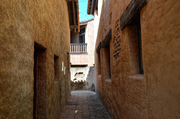 Photograph - Mission San Juan Capistrano - Back Alley by Glenn McCarthy Art and Photography