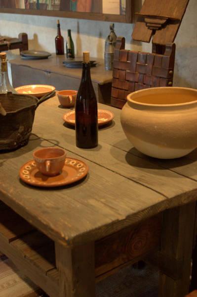 Photograph - Mission San Juan Capistrano Bottles And Bowls by Brad Scott