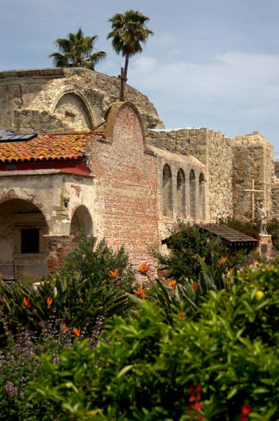 Mission Photograph - Mission San Juan Capistrano by Brad Scott