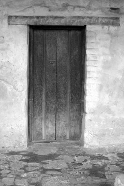 Mission Photograph - Mission San Juan Capistrano Doors by Brad Scott