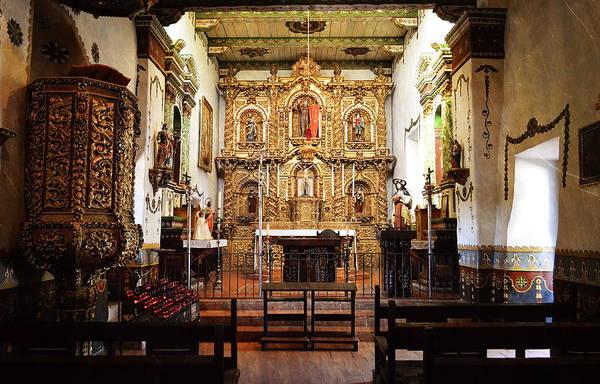 Photograph - Mission San Juan Capistrano Sanctuary by Glenn McCarthy Art and Photography