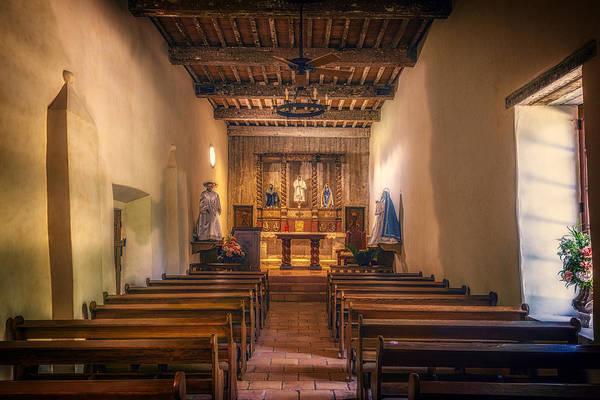 Missionary Photograph - Mission San Juan Capistrano Chapel by Joan Carroll