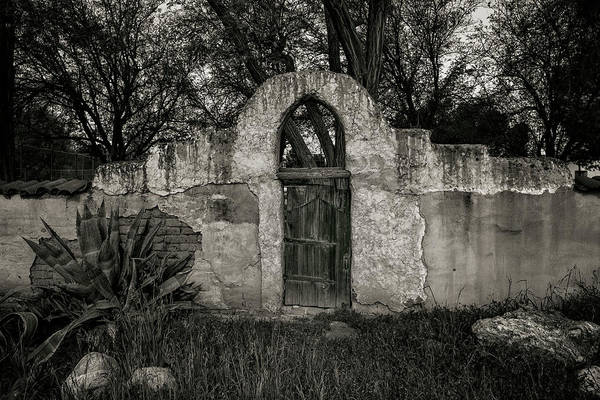 California Mission Photograph - Mission San Miguel Gate by Joseph Smith