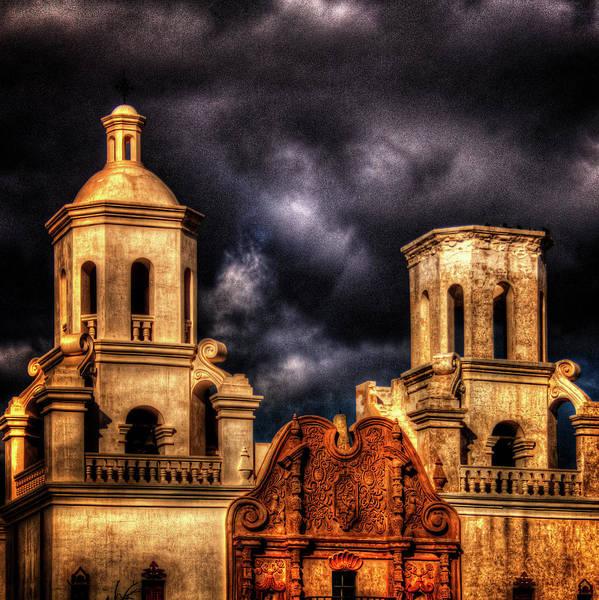 Photograph - Mission San Xavier Del Bac by Roger Passman