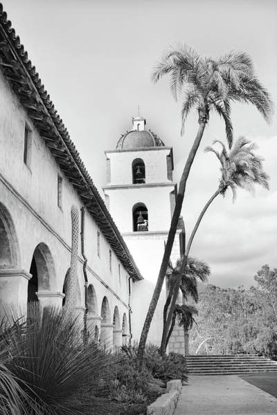 Mission Santa Barbara Photograph - Mission Santa Barbara 1 by Rosanne Nitti