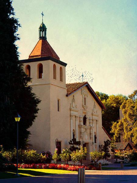Photograph - Mission Santa Clara - California by Glenn McCarthy Art and Photography