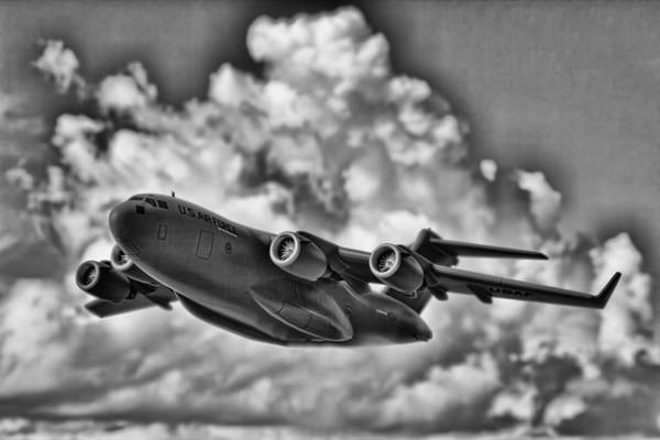 C-17 Photograph - Mission-strategic Airlift by Douglas Barnard