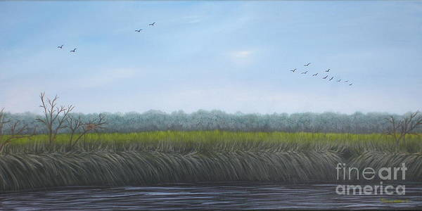 Painting - Missiquoi Refuge by Tracey Goodwin
