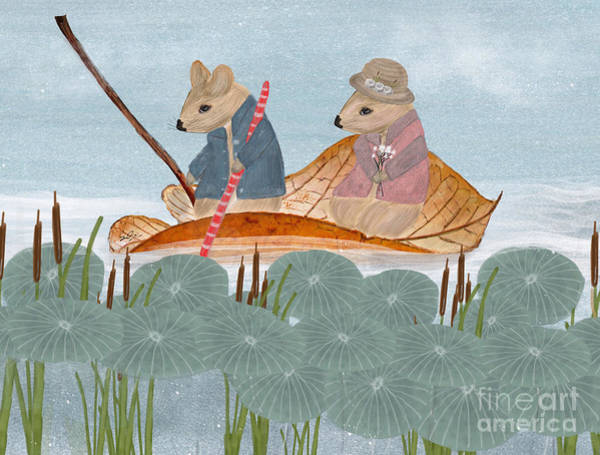 Mrs Wall Art - Painting - Mississippi Mice by Bri Buckley