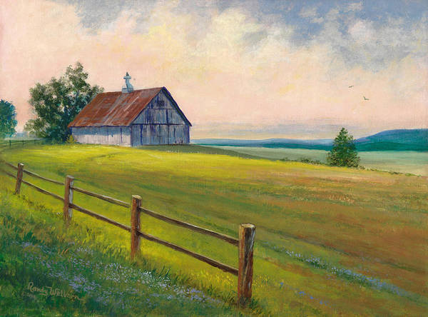 Painting - Missouri Barn by Randy Welborn
