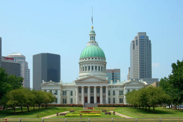 Capitol Building Photograph - Missouri State Capitol Building by Mike McGlothlen