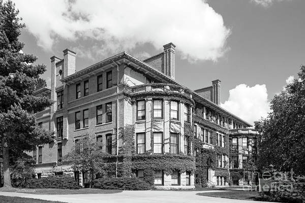 Photograph - Missouri University Of Science And Technology Norwood Hall by University Icons