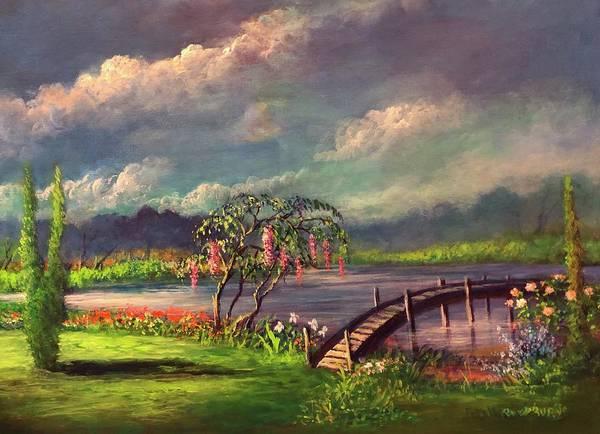 Niebla Wall Art - Painting - Mist And Mirrors/niebla Y Espejos by Randy Burns