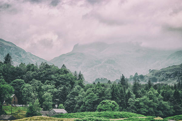 Lake District Wall Art - Photograph - Mist Covered by Martin Newman