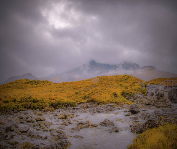 Photograph - Mist In Mountains #g8 by Leif Sohlman