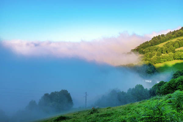 Photograph - Mist In Tineo by Fabrizio Troiani