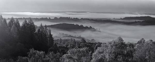 Photograph - Mist Layers Over Aberfoyle by Stephen Taylor
