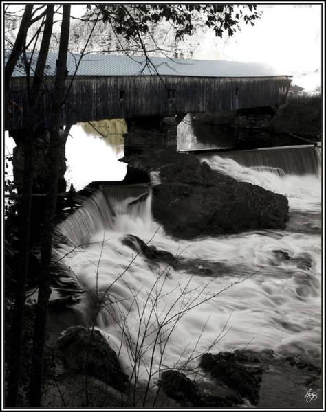 Photograph - Mist On Harriman Falls by Wayne King