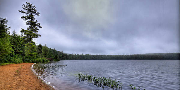 Photograph - Mist Over Nicks Lake by David Patterson