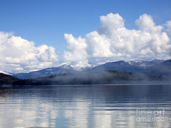 Photograph - Mist Over Priest Lake by Carol Groenen