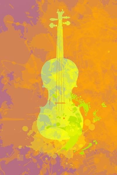 Mist Violin Art Print