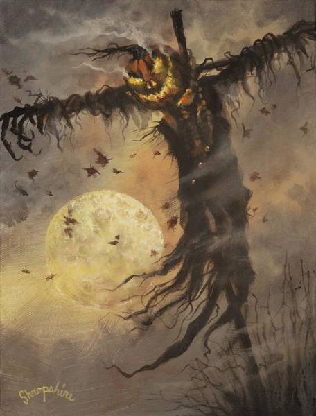 Wall Art - Painting - Mister Halloween by Tom Shropshire