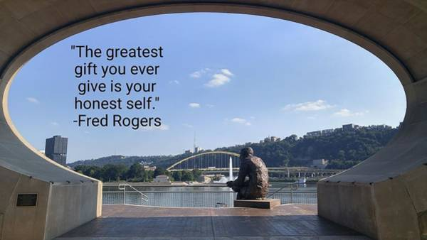Wall Art - Photograph - Mister Rogers by Shelley Smith