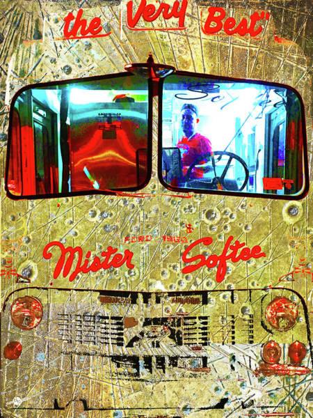 Mixed Media - Mister Softee by Tony Rubino