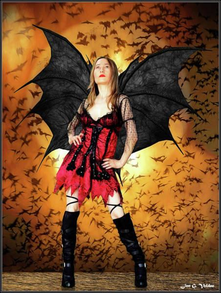 Photograph - Mistress Of Evil by Jon Volden